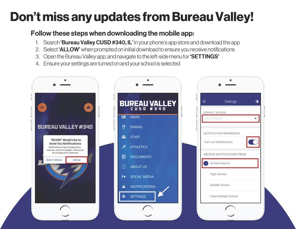Download the BV340 App today!